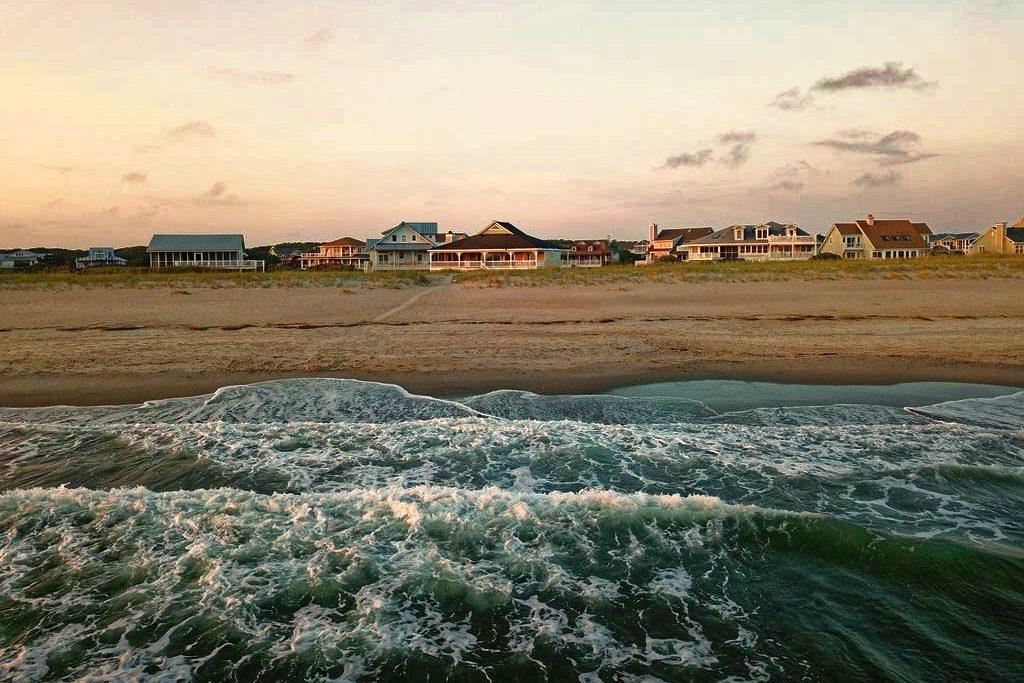 Atlantic ocean waves await